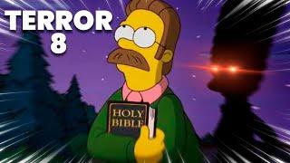 AHORA MARGE PUEDE CORRER 😨 TERROR JUNTO A NED FLANDERS 😨 Viernes de Terror 8   Eggs for Bart