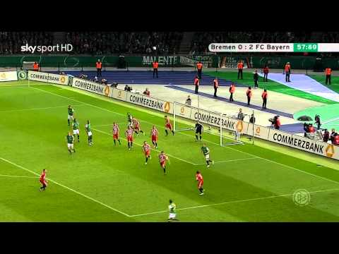 Mesut Özil vs Bayern Munchen (DFB Pokalfinale) 09-10 HD 720p by Hristow