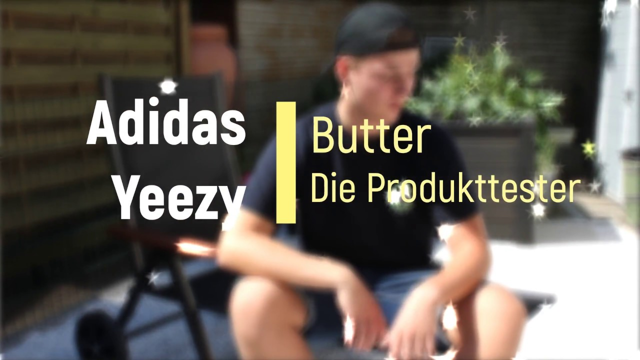 9b45dd819aa9e Unboxing und Review Adidas Yeezy Boost 350 V2 Butter - YouTube