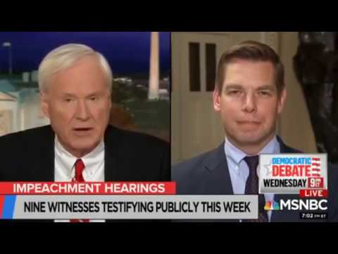 Michael Berry - Democrat Hack Eric Swalwell With The Massive Butt Yodel On MSNBC