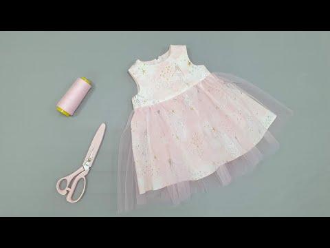 Платье для принцессы сшить своими руками