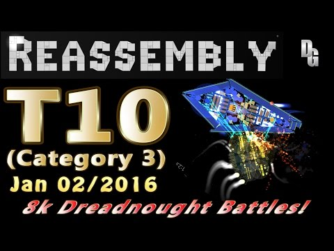 Reassembly ► Tournament #10 ► 8,000p Dreadnought Smashing for Steam Keys! (Cat 3)