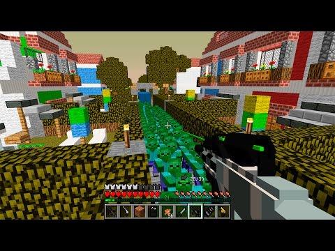 Безумный зомби апокалипсис – видео Майнкрафт