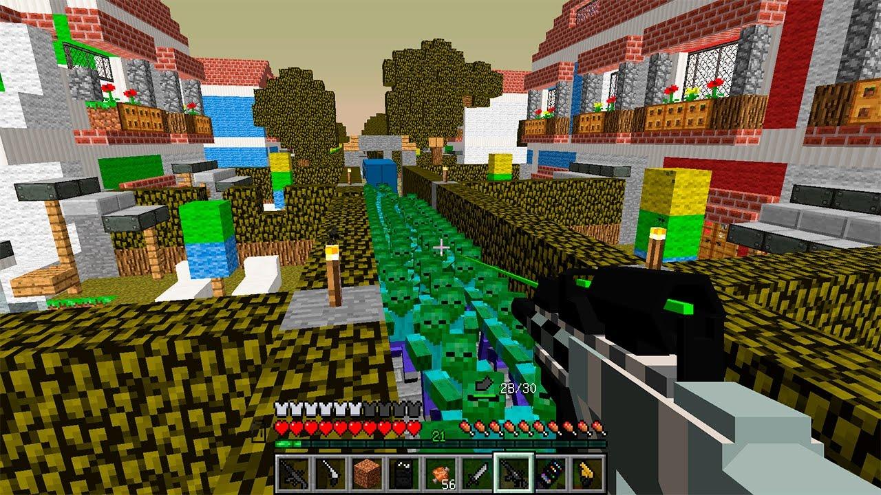 Зомби апокалипсис в Minecraft-1 серия. - YouTube