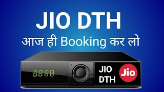 Jio Dth Booking Start Today 1 year All channal Free Hurry Up