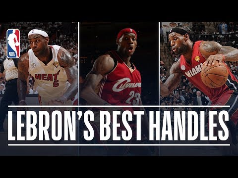 LeBron James' 23 BEST Career Handles! thumbnail