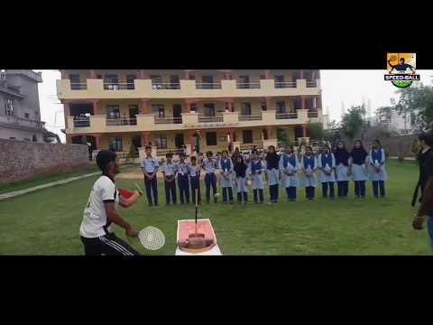 Speedball Game Introduced In CHIRAG PUBLIC SCHOOL,Jammu  || JK Speedball Media