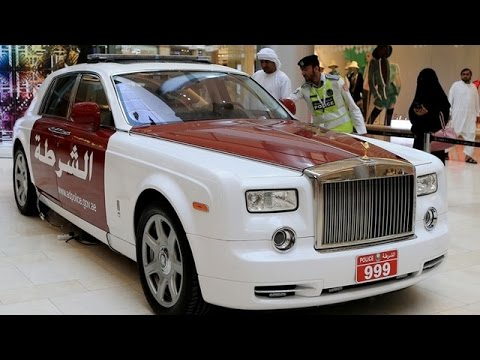 Abu Dhabi Police Add Rolls Royce Phantom