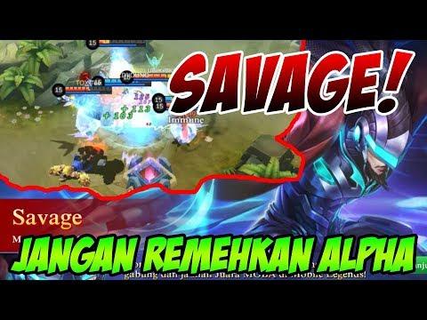 ALPHA SAVAGE!! FIGHTER INI GAK BISA DI REMEHIN - Build Item + Gameplay