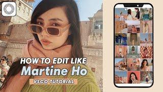 Martine Cajucom Instagram Filter Tutorial (How to Edit like @Martine) | Danielle Olan