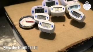 цифровой термометр высокоточный: обзор. Доктор Губер