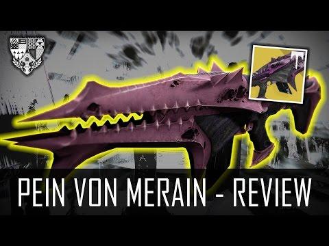 """Destiny """"PEIN VON MERAIN (MEISTER)"""" - Waffen Review (German/Deutsch) [HD+]"""