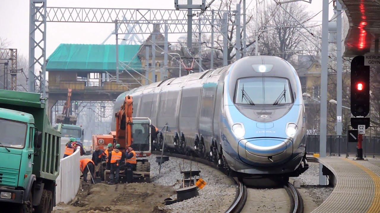 Pociąg Pendolino ED250 PKP InterCity Premium EIP 5308 oraz ...