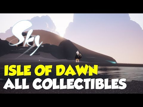 Sky: Children Of The Light Isle Of Dawn All Collectible Locations (All Spirits & Stars)