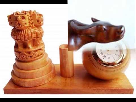 The Royal Handicrafts Wooden Handicrafts Youtube