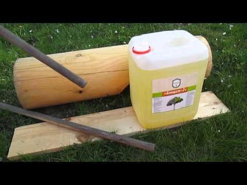 БиоЩит - отбеливатель для дерева и древесины