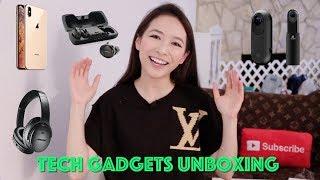 (中文English Subs) ❤️Elaine Hau - 電子產品開箱 🎧Tech Gadgets Unboxing 📱