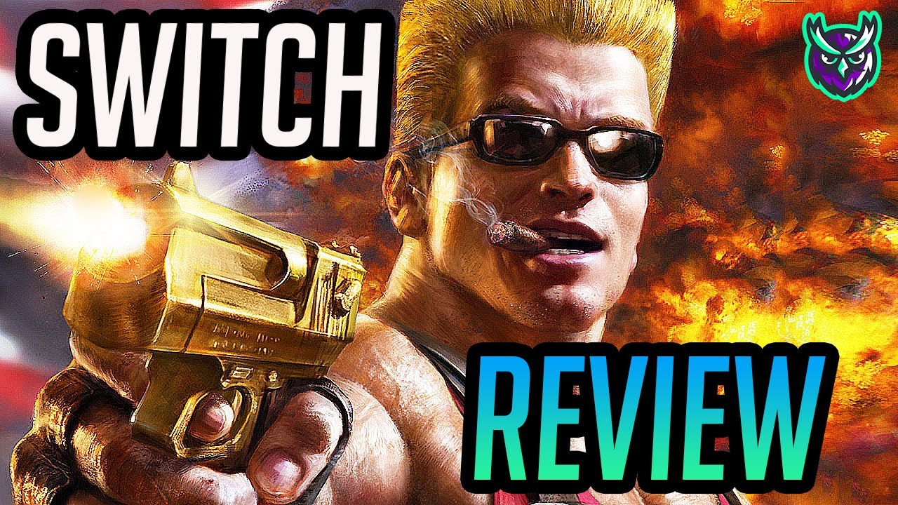 Duke Nukem 3D: 20th Anniversary World Tour Nintendo Switch Review! (Video Game Video Review)