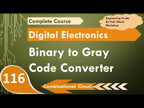Binary Code to Gray Code Converter, Combinational circuit in Digital Electronics