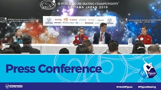 ISU World Figure Skating Championships 2019, Press Conference: Ladies Medalists