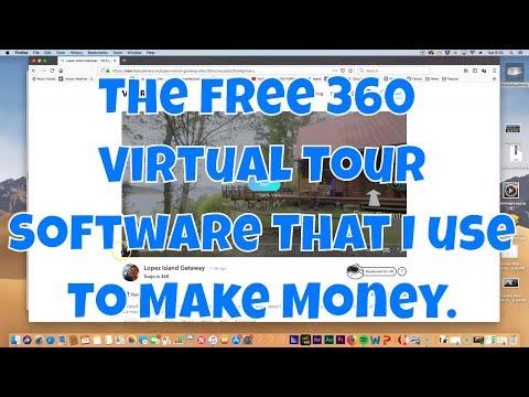 The FREE 360 VIRTUAL Tour Software That I Use To Make $$. #VirtualTour (