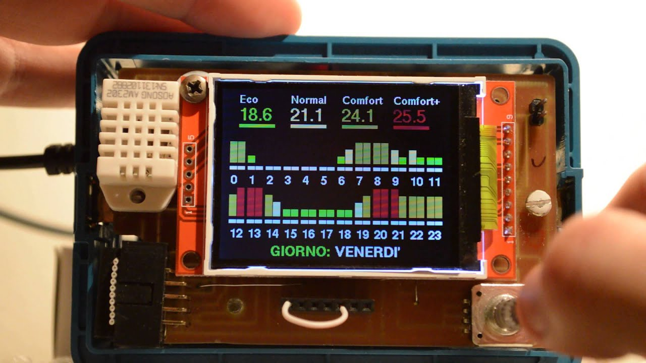 SST Is A Very Tidy ESP8266 Smart Thermostat | Hackaday