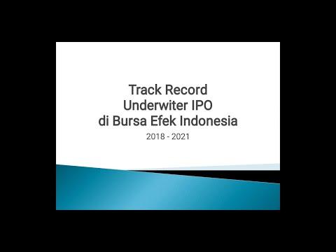 Track Record Underwriter IPO 2018 - 2021!!! #IPO #UNDERWRITER #SEKURITAS #UNDERWRITERIPO