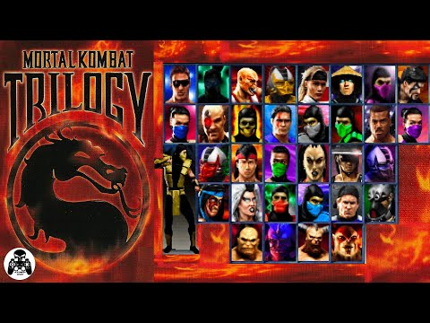 Mortal Kombat Trilogy. Sony Playstation. прохождение за Скорпиона (All Finishing Fatality) [60fps]