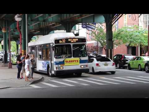 MTA NYC Bus: Fordham Road and Jerome Avenue
