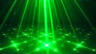 L18 SUNY 3 Lens 18 Patterns Club Bar RG Laser BLUE LED Stage Lighting DJ Home Party