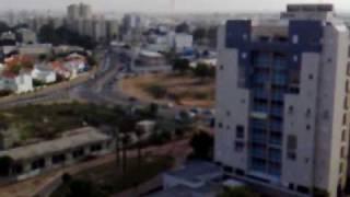 אזעקה ונפילת קטיושה באשקלון 29.12.08 - Red color In Ashkelon thumbnail