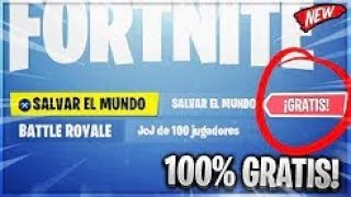 CAN YOU SAVE THE WORLD IN FORTNITE TOTALLY FREE!? WHEN YOU SALDRA!!