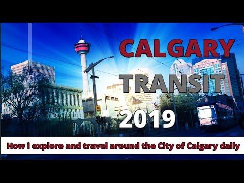 Calgary Transit - My Daily Calgary Transit Ride 2019 - Calgary Alberta Canada