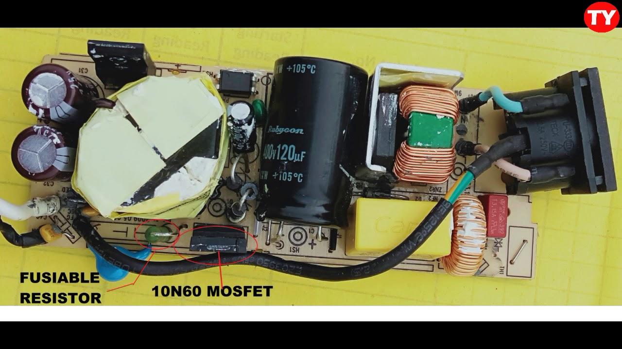 Hp Laptop Ac Adapter Circuit Diagram Components Tutorial