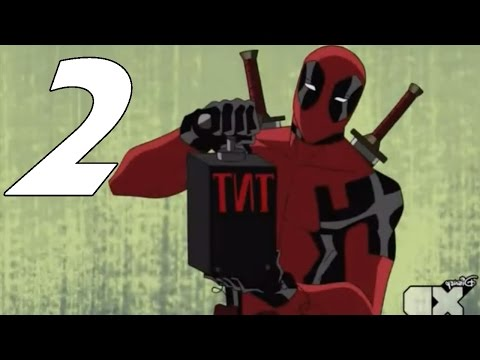 Deadpool in Ultimate Spider-Man (2/6) - Meets Spidey
