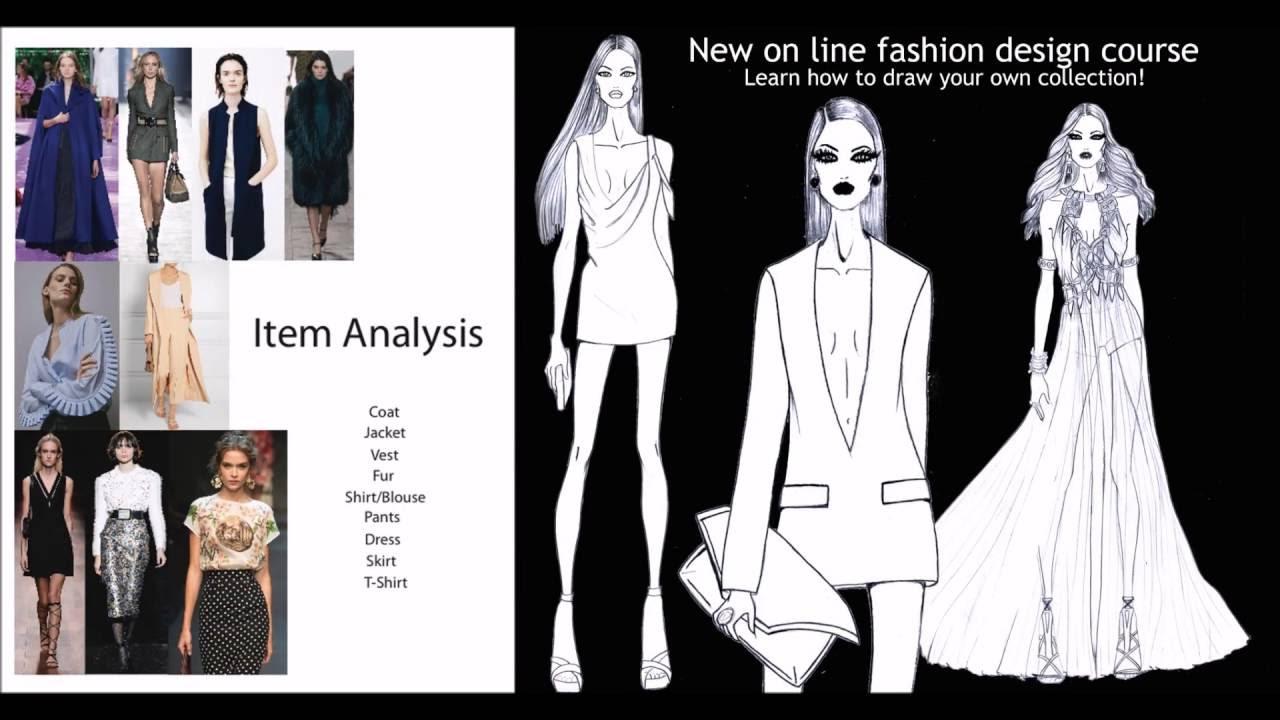 Online Fashion Design Course Youtube