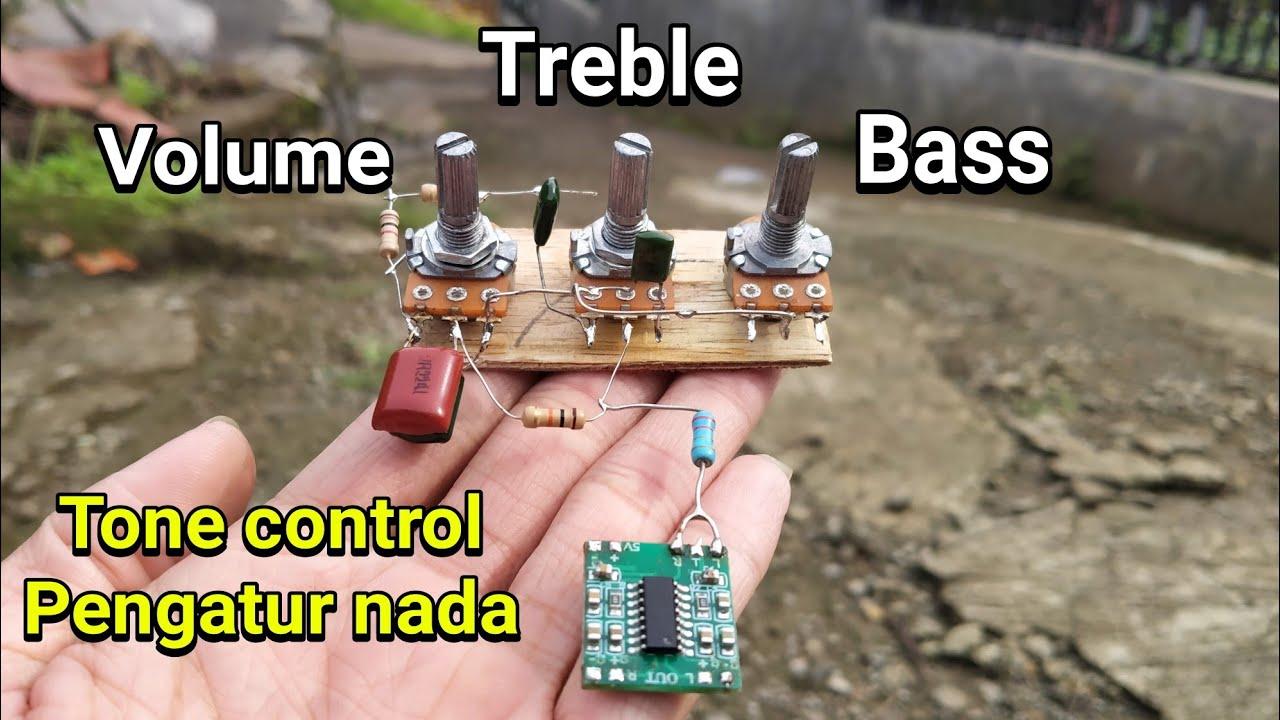 Cara Membuat Volume Treble Dan Bass Pada Semua Jenis Modul Amplifier Youtube