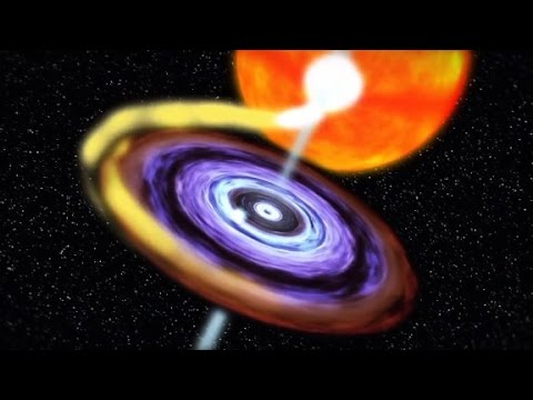 Black hole awakens, erupts after 26 years