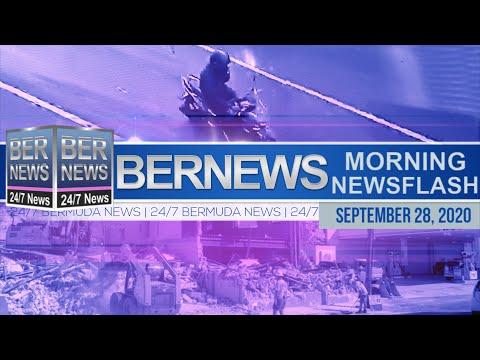 Bermuda Newsflash For Monday, Sept 28, 2020