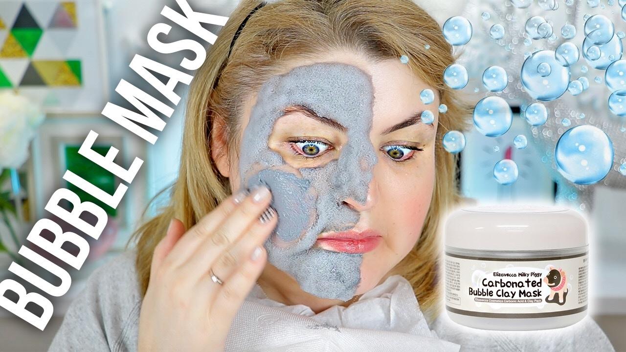 Тест-драйв пузырящейся маски