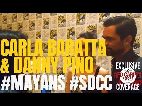 Carla Baratta & Danny Pino ed at the Mayans M.C. at  SDCC MayansMC