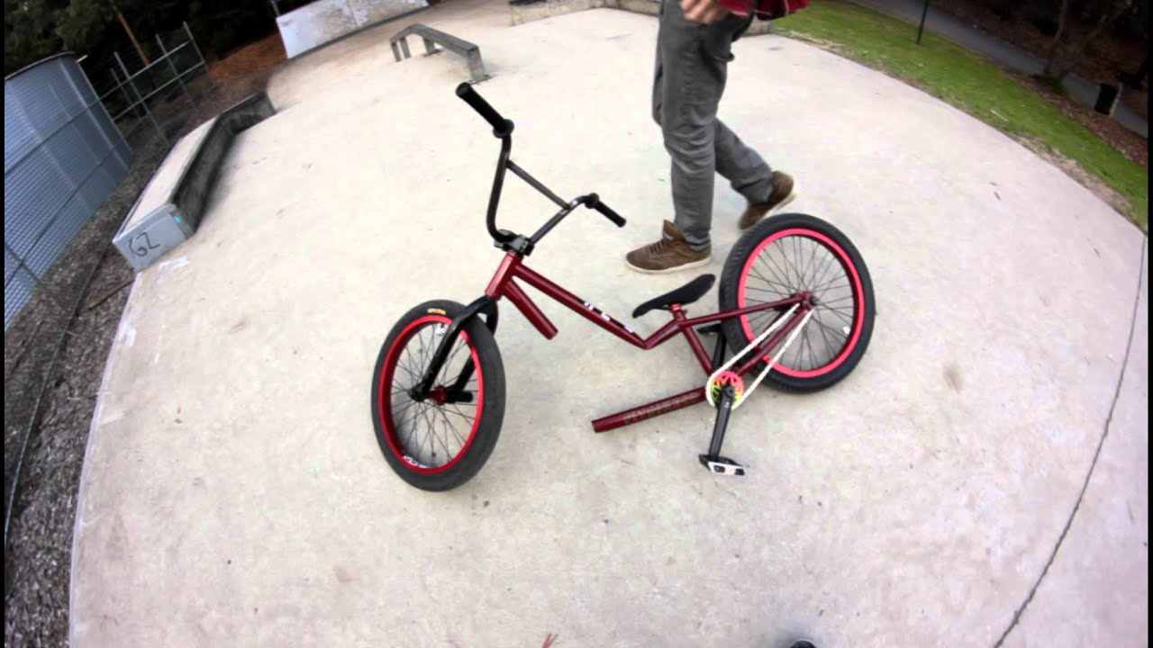 fit bike co aitken s35 frame snap matt king dads bmx youtube