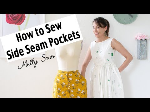 How to Sew Pockets - Add Pockets to a Garment