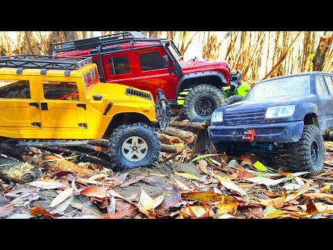 RC Trucks OFF Road 4x4 Deep Forest Traxxas TRX4, Axial SCX10 Hummer — RC Extreme Pictures