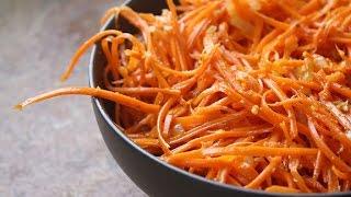видео Салат «Корейская морковь»