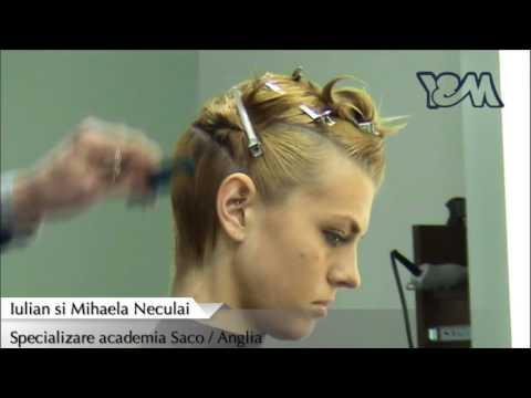 Salon Cursuri Hairstyle YM / Specializare academia Saco_Anglia