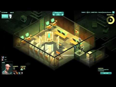 Invisible, Inc. Прохождение 4. (DLC Contingency Plan, Expert+,IM). Часть 1