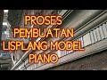 Proses Membuat Lisplang Rumah Minimalis Model Piano