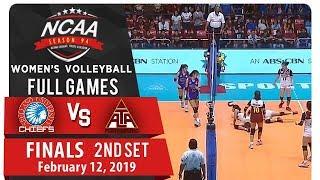 NCAA 94 WV Finals Game 3: AU vs. UPHSD | Full Game | 2nd Set | February 12, 2019