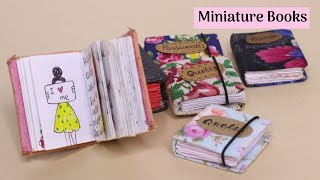 How to Make DIY Mini Note Books From One Sheet Paper !!! Easy Paper Craft Idea By Aloha Crafts